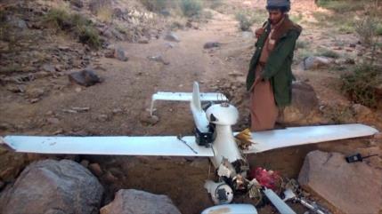 Fotos: Ejército yemení derriba un dron espía saudí en Jizan