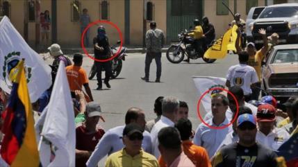 """Venezuela: AP desmiente fotografía de """"ataque"""" a Guaidó"""