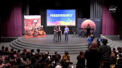 NASA da a conocer el nombre del nuevo róver que irá a Marte