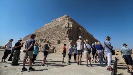 Fotos y vídeo: Egipto reabre su pirámide más antigua tras 14 años