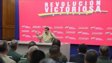 """Maduro advierte sobre un """"plan de guerra"""" de EEUU contra Venezuela"""