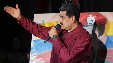 Maduro convoca una campaña contra las criminales sanciones de EEUU
