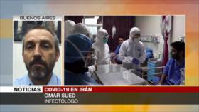 """Sued: La labor de Irán en la lucha contra COVID-19 es """"excelente"""""""