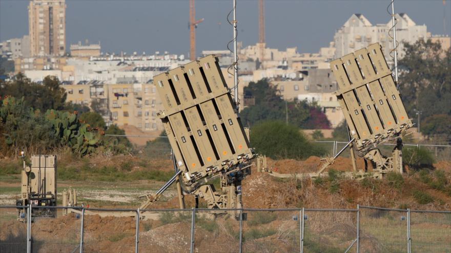 Sistema israelí antimisiles Cúpula de Hierro en la ciudad de Ashdod, 12 de noviembre de 2019. (Foto: AFP)
