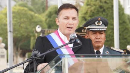 Parlamento destituye a ministro de Defensa de Áñez por represiones