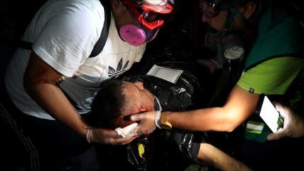Vídeo: Muere manifestante chileno por impacto de bomba lacrimógena