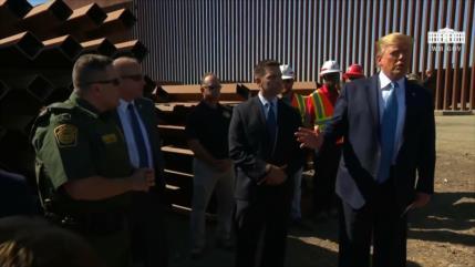 Trump insiste en levantar muros mientras más túneles aparecen