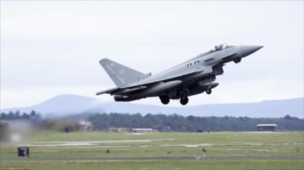 Cazas británicos interceptan aviones rusos cerca del Reino Unido