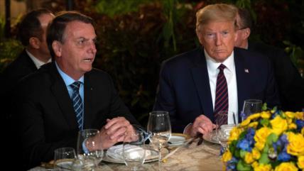 Trump exige que OTAN dé siguiente paso para asociarse con Brasil