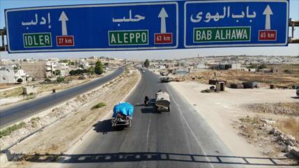 Vídeo: Siria reabre al público estratégica carretera Damasco-Alepo