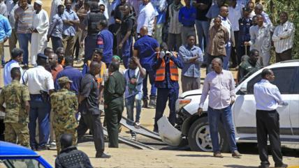 El primer ministro de Sudán sale ileso de un atentado con bomba