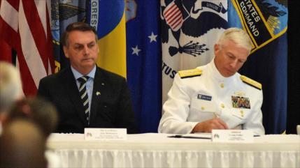 EEUU estrecha nexos con Brasil para contener la influencia china