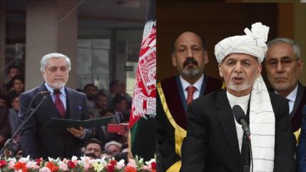 Qani y Abdulá juramentan como presidentes con explosiones de fondo