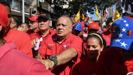 Cabello convoca al chavismo para realizar la madre de las marchas