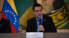 Caracas critica apoyo de UE a iniciativas antivenezolanas de EEUU