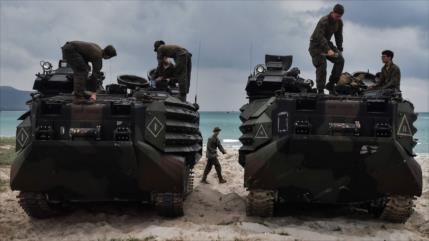 Marines de EEUU llegan a Yemen para apoyar a las fuerzas emiratíes