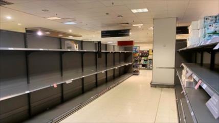 Vídeo: Se vacían los supermercados de Madrid por temor de COVID-19