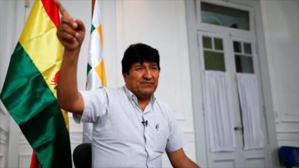Morales: EEUU busca un fraude electoral con su oferta de ayuda
