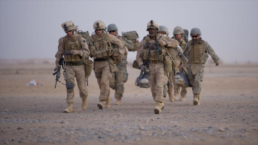Soldados estadounidenses desplegados en Afganistán, 1 de julio de 2009. (Foto: AFP)