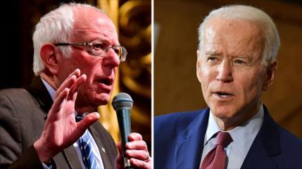 Biden y Sanders cancelan sus mítines por el coronavirus