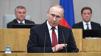 Duma aprueba enmienda que habilita a Putin a gobernar tras 2024