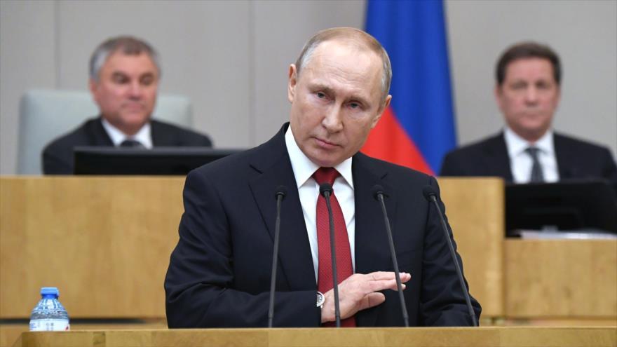 Duma aprueba enmienda que habilita a Putin a gobernar tras 2024   HISPANTV