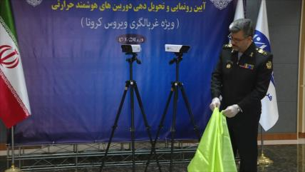 Irán fabrica cámara térmica inteligente para combatir al COVID-19
