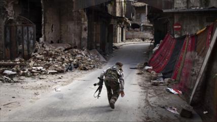 Vídeo: Se registra una 'guerra interna' entre terroristas en Alepo