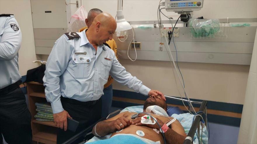 El comisionado adjunto del servicio de prisiones de Israel, Gondar Vaknin, en la prisión de Ketziot, 24 de marzo de 2019.