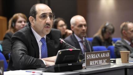 Siria repudia informe sesgado de OPAQ sobre uso de armas químicas