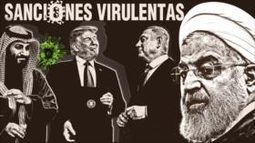 Detrás de la Razón; Grupo antiraní presiona a empresas para que no envíen medicinas a los iraníes en medio de crisis