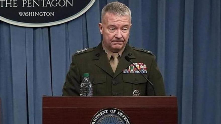Kenneth F. McKenzie, jefe del Comando Central de Estados Unidos (Centcom, por sus siglas en inglés).