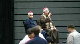 Musulmanes recuerdan a víctimas de atentado en Nueva Zelanda