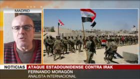 Moragón: EEUU alimenta tensiones en Irak con su presencia militar