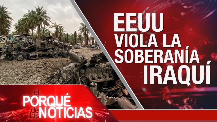 El Porqué de las Noticias: EEUU ataca a Irak. Conflicto en Siria. Emergencia nacional en EEUU