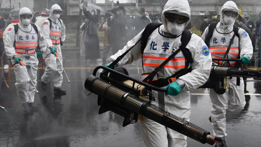 'EEUU ha producido el coronavirus en sus laboratorios secretos'
