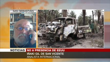 Iñaki Gil: Para no sufrir ataques, EEUU debe abandonar Irak