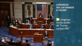 PoliMedios: Congreso ata a Trump contra Irán