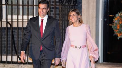Esposa de Pedro Sánchez da positivo en coronavirus