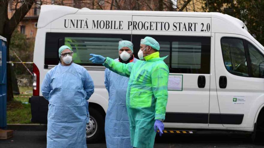 UE abandona a Italia en su hora de necesidad por crisis de COVID-19 | HISPANTV