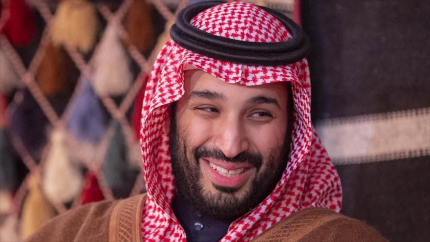 El príncipe heredero saudí, Muhamad bin Salman Al Saud, en una ceremonia en la ciudad de Al-Ula, noroeste del país árabe, 12 de enero de 2020. (Foto: AFP)