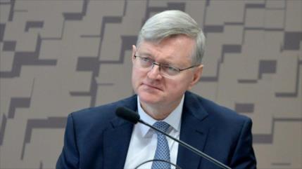 Embajador brasileño en EEUU da positivo al test del coronavirus