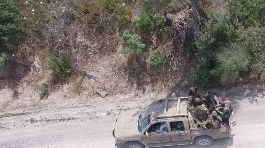 """Los terroristas de la coalición denominada """"Harad Al-Mumenin"""" en la provincia siria de Idlib."""