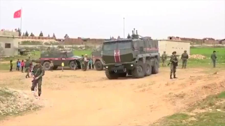 Patrullas ruso-turcas, suspendidas tras provocaciones terroristas