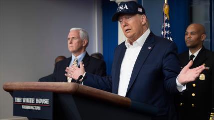 Otra afirmación falsa de Trump: Tengo gran control sobre COVID-19