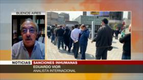 Vior: Sanciones de EEUU apuntan a la población civil de Irán