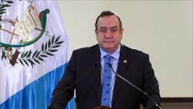 Presidente de Guatemala decide cerrar las fronteras del país