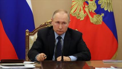 """Putin asegura que el coronavirus está """"bajo control"""" en Rusia"""