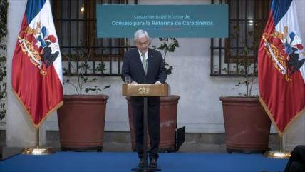 Presidente chileno presenta proyecto de reforma de Carabineros