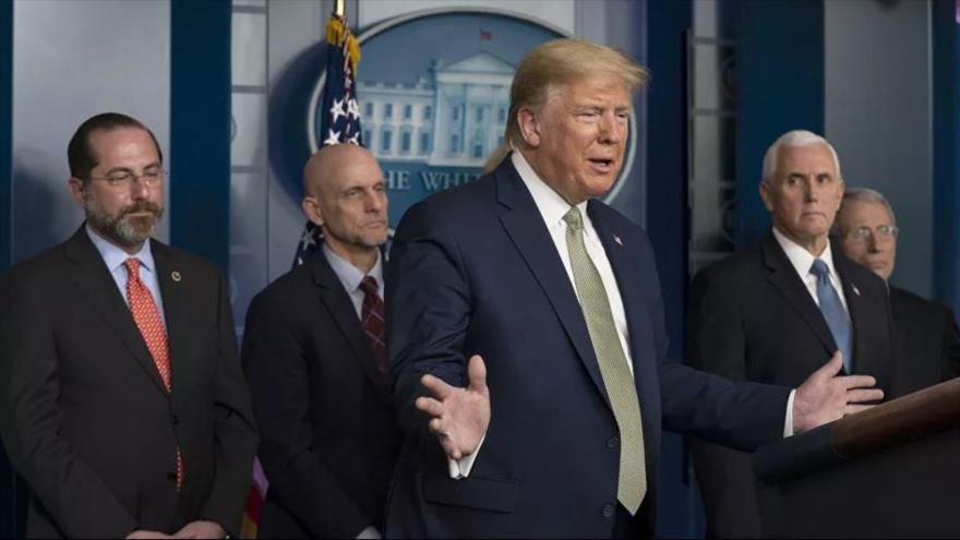 60 % de estadounidenses no se fían de Trump sobre el coronavirus | HISPANTV